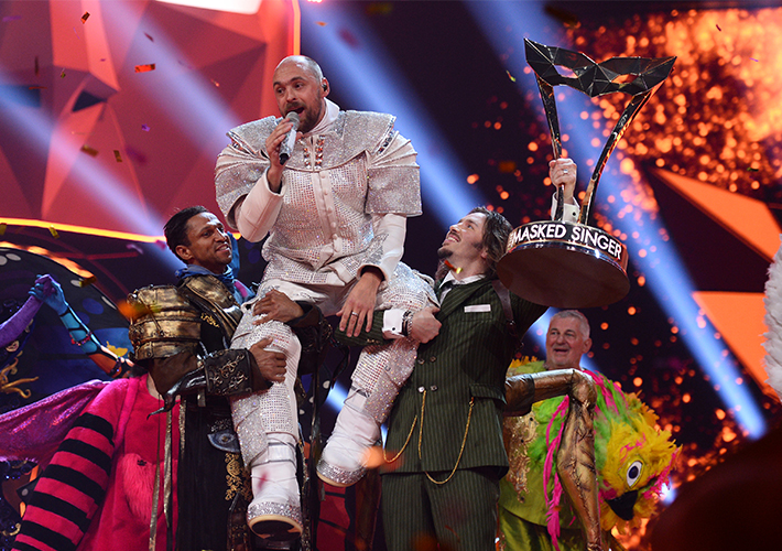 "Final of ""The Masked Singer"" (Photo)"